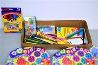 Box of Assorted Craft Items