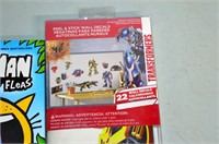 Transformers Wall Decals and DogMan Book