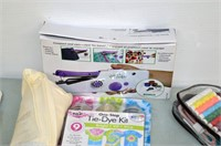 Box of Sewing Craft Items