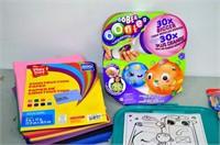Box of Craft Supplies, Oonies, Crayola Drawing