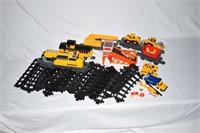 Caterpillar Toy Train Set