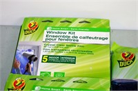 Duck Window Film Kits and Air Conditioner Cover