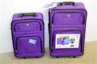 Jetstream 4pc. Luggage Set - purple