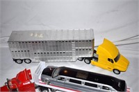 Grp, of Toy Transport Trucks, Limo