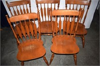 (5) Maple Dining Chairs