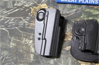 Lot of 3 Assorted Composite Holsters