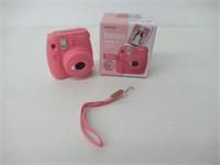 Fujifilm Instax Mini 9 Instant Camera, Flamingo