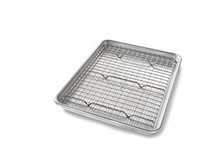 USA Pan 1604CR Quarter Sheet Baking Pan and