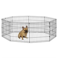 """""""As Is"""" Midwest Foldable Metal Exercise Pen/Pet"""