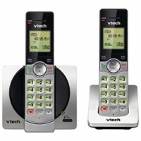 VTech DECT 6.0 Dual Handset Cordless Phones with