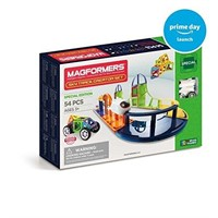 Magformers Sky Track Set Building Kits (54 Piece),