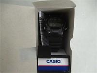 Casio Kids' W-214HC-1AVCF Black Resin Digital