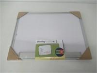 Dooley Boards Aluminum Framed Dry Erase Board, 18