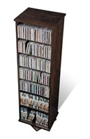 Prepac Two Sided Spinner, Holds 528 CDs