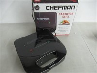 Chefman Dual Sandwich Maker Press, Non-Stick