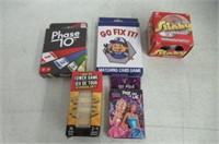 (5) Various Card Games/Slinky