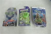 (3) Marvel Mash'ems Fist Flyers Series 2 'Hulk',