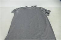 Adidas Mens 2XL FreeLift Textured Tee, Carbon