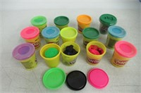 """""""As Is"""" Lot of Various Colored Play-Dohs"""