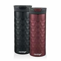 Contigo SnapSeal Kenton Travel Mugs, 20 oz, Black