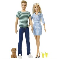 Barbie and Ken Doll Giftset
