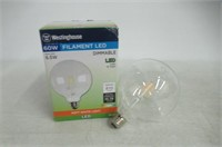 Westinghouse 3317500 60W Equivalent G40 Dimmable
