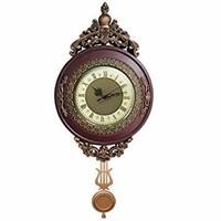 Giftgarden Vintage Wall Clock Non Ticking - Silent