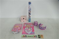 Lot of Various Girls Toys/Beauty Items