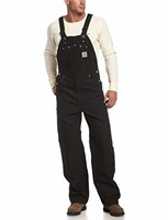 Carhartt Men's 32x30 Duck Bib Overall Unlined