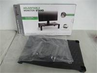 Mind Reader Extra Wide Monitor Stand, Monitor