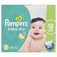 Pampers Baby Dry Disposable Diapers Size 2,