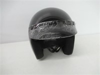 Open Face Motorcycle Helmet, Small (DOT Approved