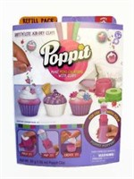 Poppit Mini Cupcakes Air Dry Clay Creations Refill