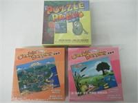 Puzzle Panic & 2 Crackleberries Puzzles