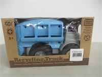 100% Recycled Materials Toy Recycling Truck