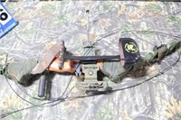 Lot with Compound Bow and Accessories