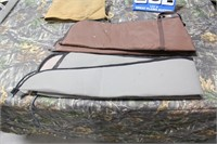 Lot of Assorted Cloth or Canvas Rifle Cases
