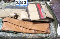 Lot of Assorted Vinyl Soft Rifle Cases