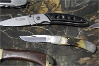Lot of Assorted Folding Knives