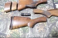 Lot of Assorted Shotgun Stocks, Sights and Choke