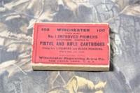 Vintage Winchester Primer Box