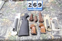 Lot of Thompson Center Stocks, Grips, Etc.