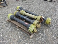 (5) Assorted PTO Shafts