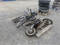 Assorted Bikes and Motorcycle