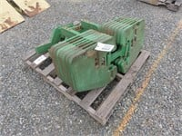 Pallet of Tractor Weights