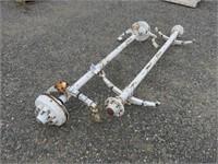 (2) Axles
