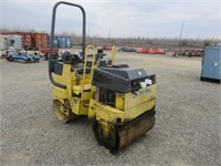 Project Double Smooth Vibratory Roller