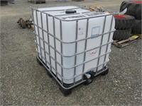 275 Gallon Plastic Tote with Cage