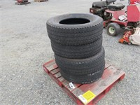 (4) Firestone LT275/70R18 Tires
