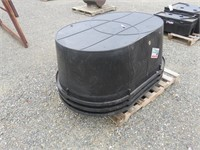 (3) 160 Gallon Tuff Stuff Tanks